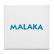 Malaka Blue Tile Coaster