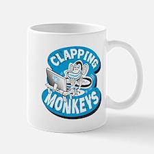 Clapping Monkey Scrum Mug
