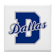 Dallas Letter Tile Coaster