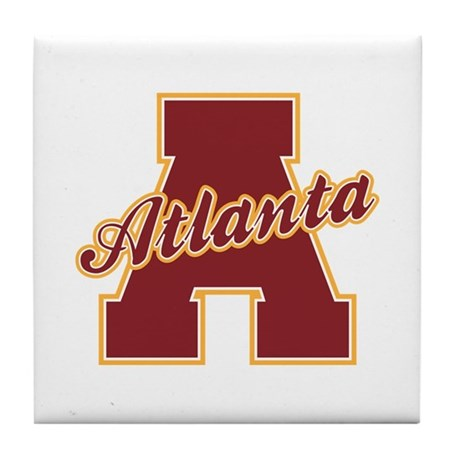 Atlanta Letter Tile Coaster