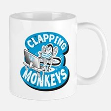 Clapping Monkey Logo Mug