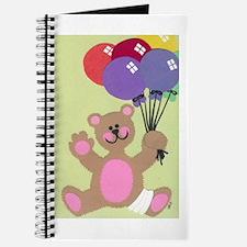 Get Well Teddy Journal