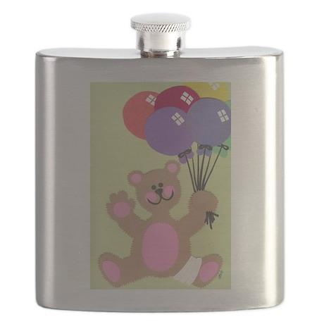 Get Well Teddy Flask