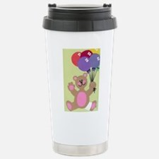 Get Well Teddy Stainless Steel Travel Mug