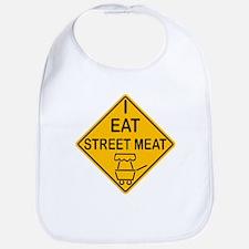 I Eat Street Meat Bib