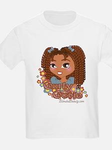 Curly Cutie Kids T-Shirt