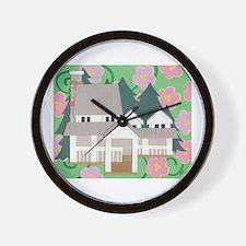 House & Home Wall Clock