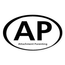 Attachment Parenting Rectangle Decal