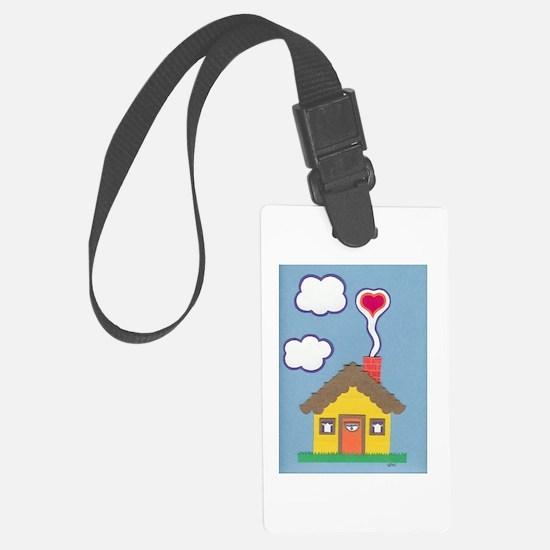 Hearth & Heart Luggage Tag