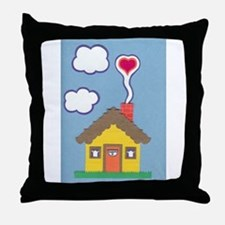 Hearth & Heart Throw Pillow