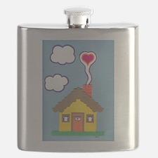 Hearth & Heart Flask