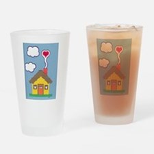 Hearth & Heart Drinking Glass