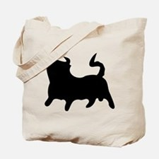Black Bull Tote Bag