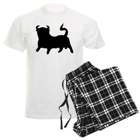 Black Bull Men's Light Pajamas