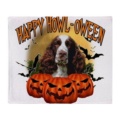 Happy Halloween Springer Spaniel.png Stadium Blan