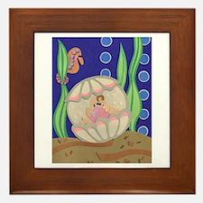 Pearl & the Oyster Framed Tile