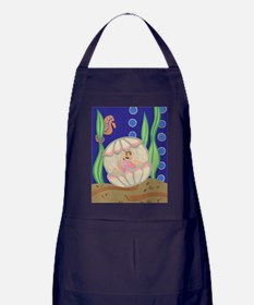 Pearl & the Oyster Apron (dark)