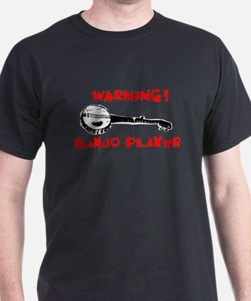 Warning! Banjo Player