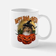 Happy Halloween Sheltie.png Mug
