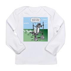 Elephant Tracking Long Sleeve Infant T-Shirt