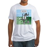 Elephant Tracking Fitted T-Shirt