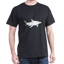 Shark Black T-Shirt