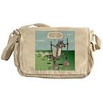 Elephant Tracking Messenger Bag