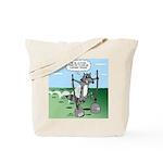 Elephant Tracking Tote Bag