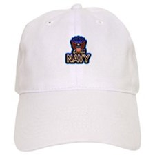 USN Navy Eagle Blue Baseball Cap