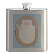 Bitty Baby Blue Flask