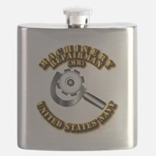 Navy - Rate - MR Flask