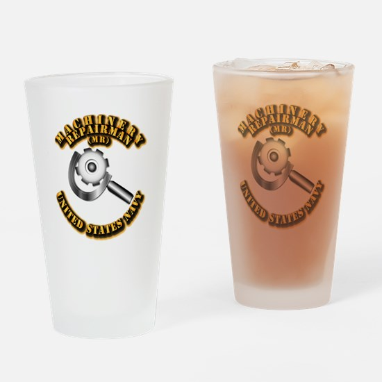Navy - Rate - MR Drinking Glass