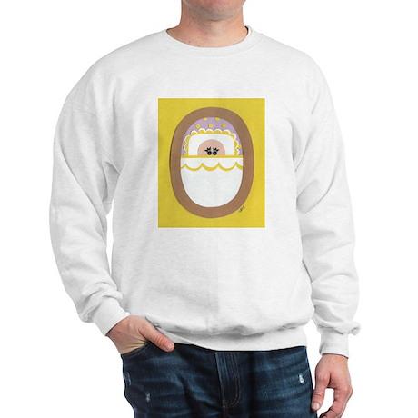 Yellow Polka-Dot Baby Sweatshirt