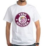 Unicorn Mens White T-shirts