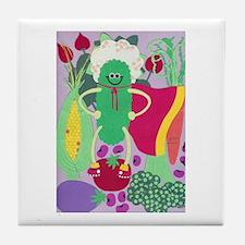 Super Pickle Tile Coaster