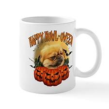 Happy Halloween Pekingnese.png Small Mug