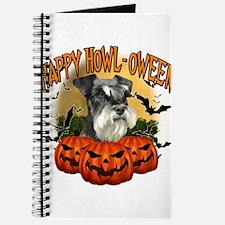 Happy Halloween Miniature Schnauzer.png Journal