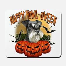 Happy Halloween Miniature Schnauzer.png Mousepad