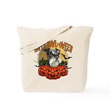 Happy Halloween Miniature Schnauzer.png Tote Bag