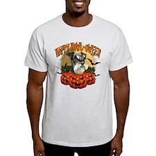 Happy Halloween Miniature Schnauzer.png T-Shirt