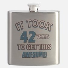 Awesome 42 year old birthday design Flask