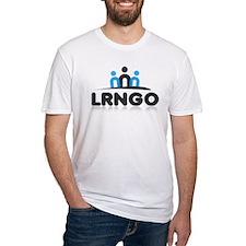 Company shirt blue black logo T-Shirt