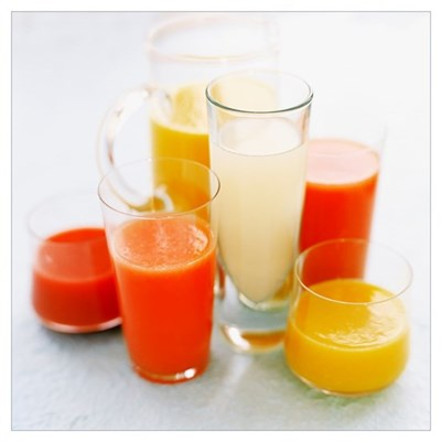 Fruit juices Poster