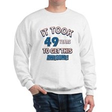 Awesome 49 year old birthday design Sweatshirt