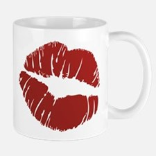 Red lip Kiss Mug