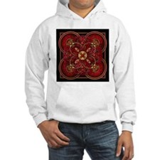 Red Celtic Tapestry Hoodie