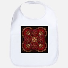 Red Celtic Tapestry Bib