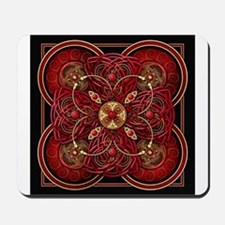 Red Celtic Tapestry Mousepad