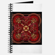 Red Celtic Tapestry Journal