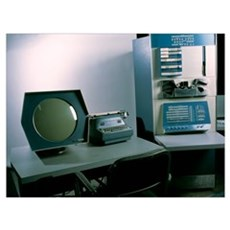 DEC PDP-1 computer Poster